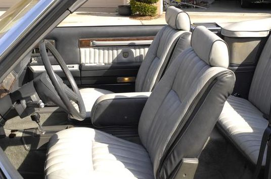 1985 Chrysler LeBaron Convertible Turbo 2.3L, One Owner Car presented as lot L52 at Kissimmee, FL 2013 - image3