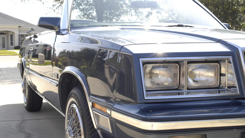 1985 Chrysler LeBaron Convertible Turbo 2.3L, One Owner Car presented as lot L52 at Kissimmee, FL 2013 - image7
