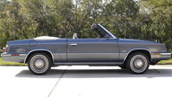 1985 Chrysler LeBaron Convertible Turbo 2.3L, One Owner Car presented as lot L52 at Kissimmee, FL 2013 - thumbail image2