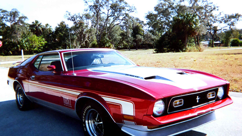 1972 Ford Mustang Mach 1 351 CI, 4-Speed presented as lot L55 at Kissimmee, FL 2013 - image7