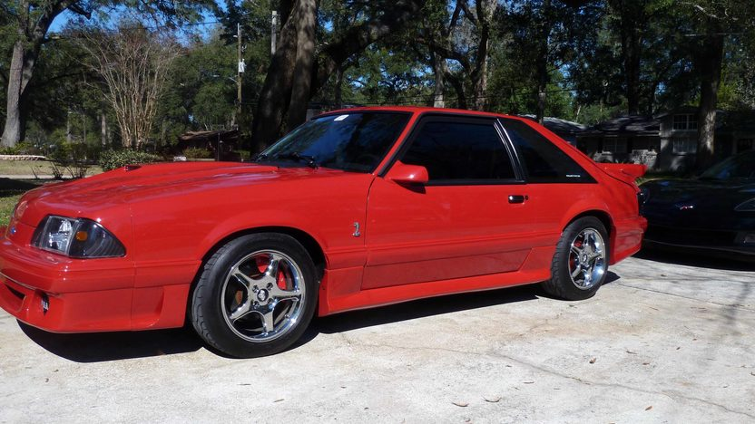 1990 Ford Mustang GT LX 5.0L, 5-Speed presented as lot L98 at Kissimmee, FL 2013 - image2