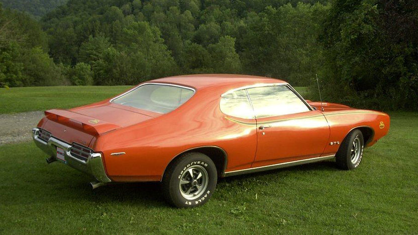 1969 Pontiac GTO Judge 400/366 HP, 4-Speed presented as lot L105 at Kissimmee, FL 2013 - image2