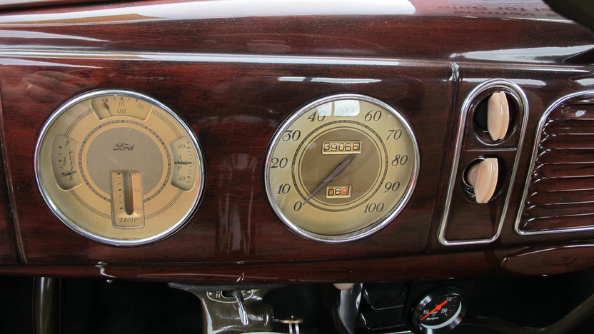1938 Ford 2 Door Sedan Mecum Kissimmee 2013 L119