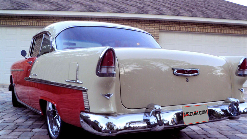 1955 Chevrolet Bel Air Hardtop 327 CI, Automatic presented as lot L136 at Kissimmee, FL 2013 - image11