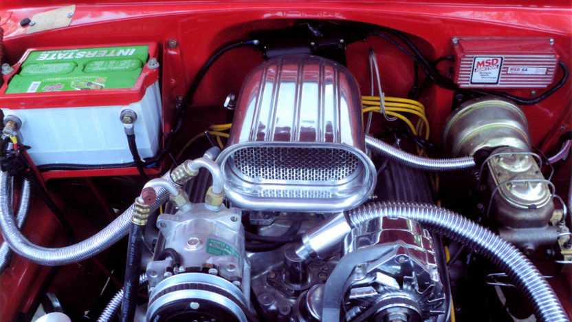 1955 Chevrolet Bel Air Hardtop 327 CI, Automatic presented as lot L136 at Kissimmee, FL 2013 - image6