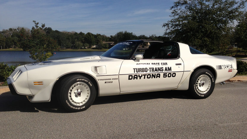 1981 Pontiac Trans Am Pace Car Edition Original and Unrestored presented as lot L140 at Kissimmee, FL 2013 - image2