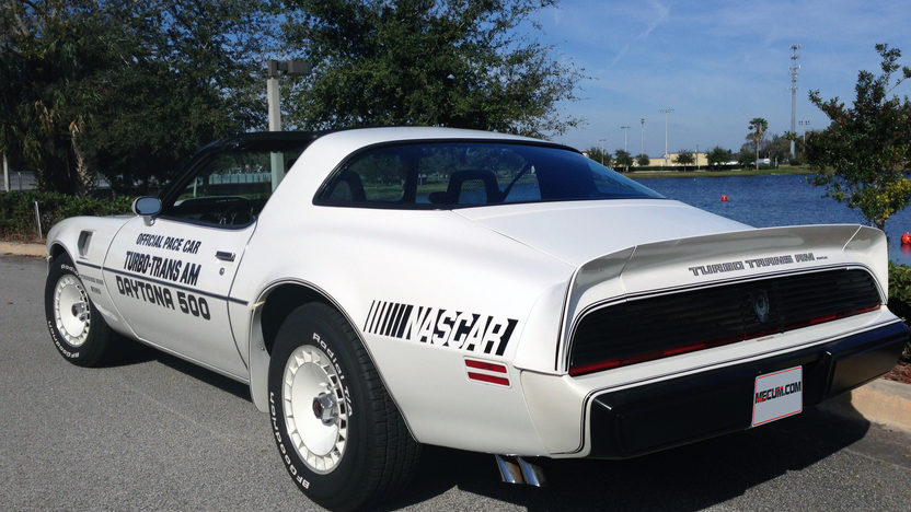 1981 Pontiac Trans Am Pace Car Edition Original and Unrestored presented as lot L140 at Kissimmee, FL 2013 - image3