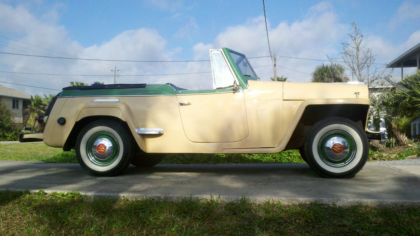 1949 Willys Jeepster 134/64 HP, 3-Speed presented as lot L150 at Kissimmee, FL 2013 - image2