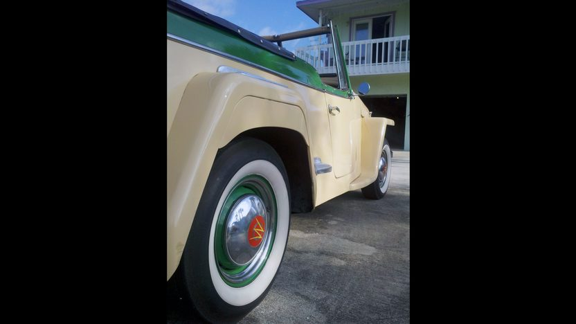 1949 Willys Jeepster 134/64 HP, 3-Speed presented as lot L150 at Kissimmee, FL 2013 - image7