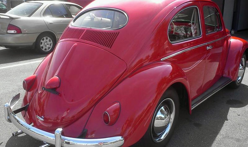 1956 Volkswagen Beetle presented as lot L156 at Kissimmee, FL 2013 - image2