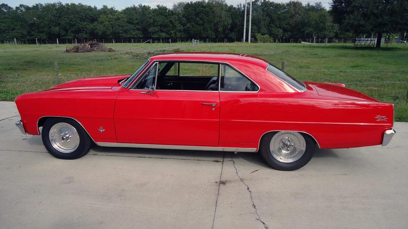 1966 Chevrolet Nova 383 CI, Nitrous presented as lot L157 at Kissimmee, FL 2013 - image2
