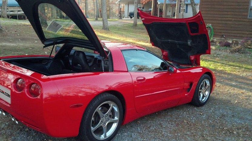 2004 Chevrolet Corvette presented as lot L159 at Kissimmee, FL 2013 - image3