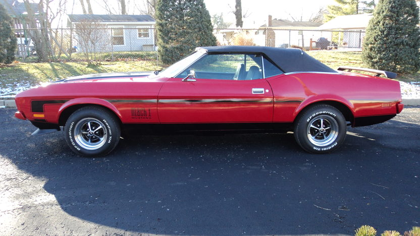 1971 Ford Mustang Convertible 351 CI, Automatic presented as lot L179 at Kissimmee, FL 2013 - image2