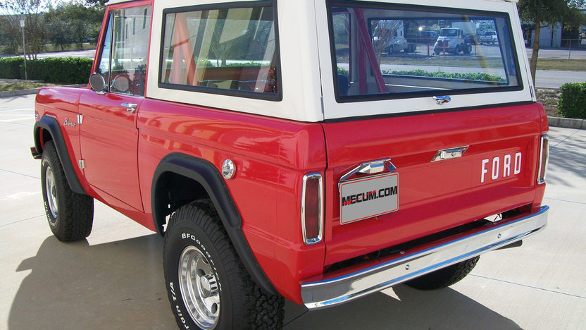 1966 Ford Bronco presented as lot L197 at Kissimmee, FL 2013 - image3