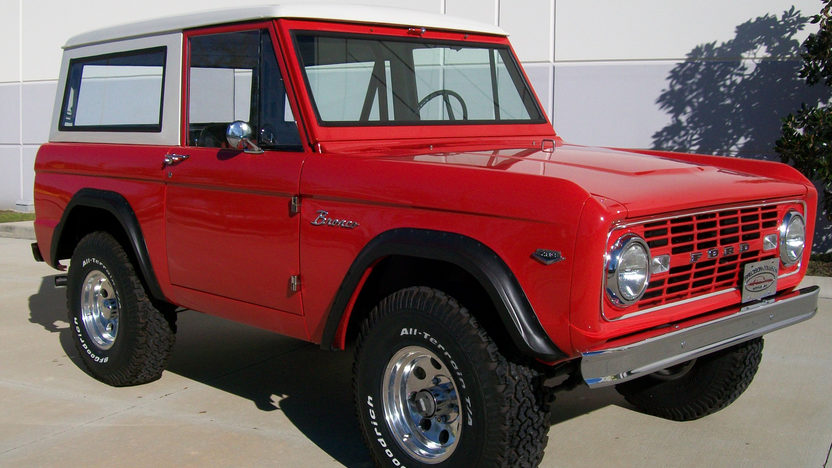 1966 Ford Bronco presented as lot L197 at Kissimmee, FL 2013 - image8