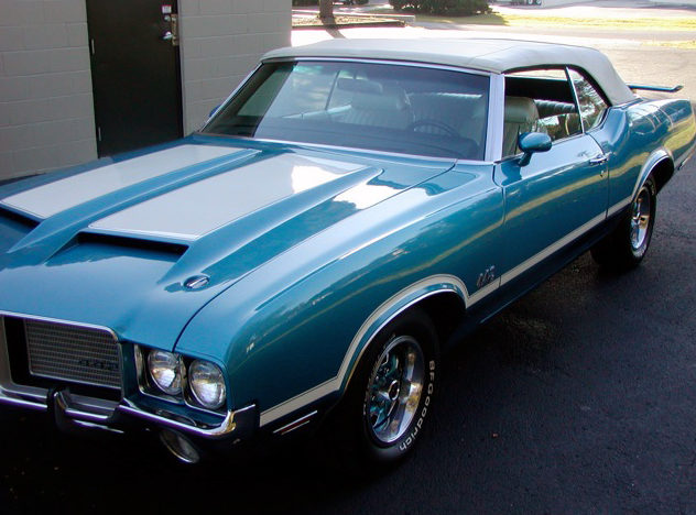 1971 Oldsmobile 442 Convertible 455/320 HP, Automatic presented as lot S41 at Kissimmee, FL 2013 - image7