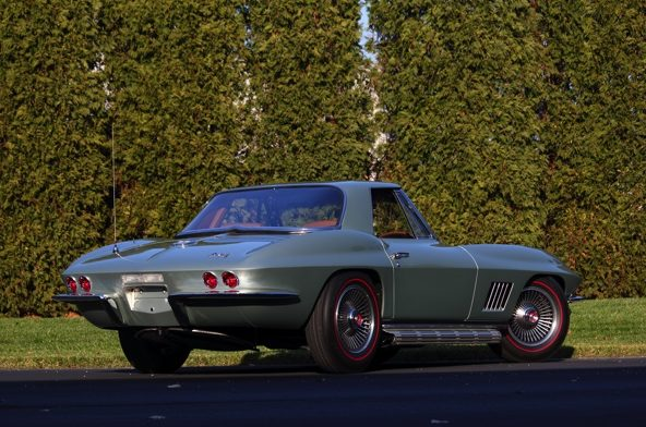 1967 Chevrolet COPO Corvette Convertible 327/350 HP, Special Paint and Trim presented as lot S158.1 at Kissimmee, FL 2013 - image3