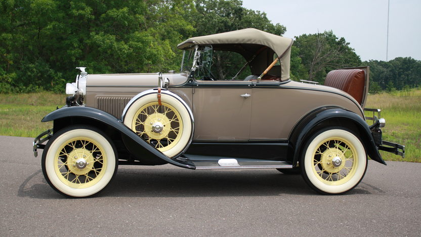 1930 Ford Model A Roadster Rumble Seat presented as lot F106.1 at Kissimmee, FL 2013 - image2