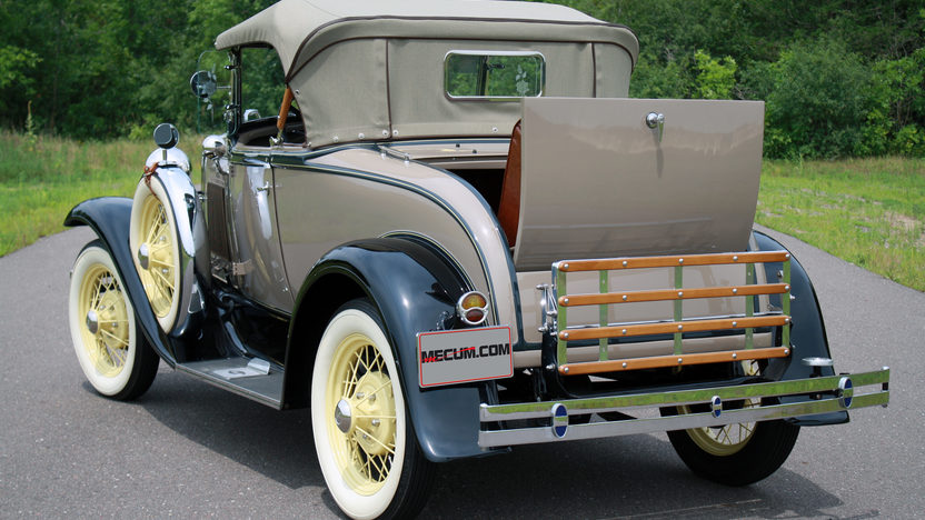1930 Ford Model A Roadster Rumble Seat presented as lot F106.1 at Kissimmee, FL 2013 - image3