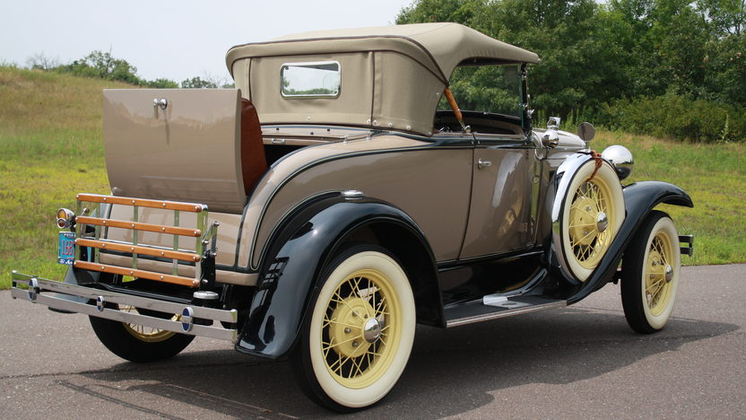 1930 Ford Model A Roadster Rumble Seat presented as lot F106.1 at Kissimmee, FL 2013 - image4