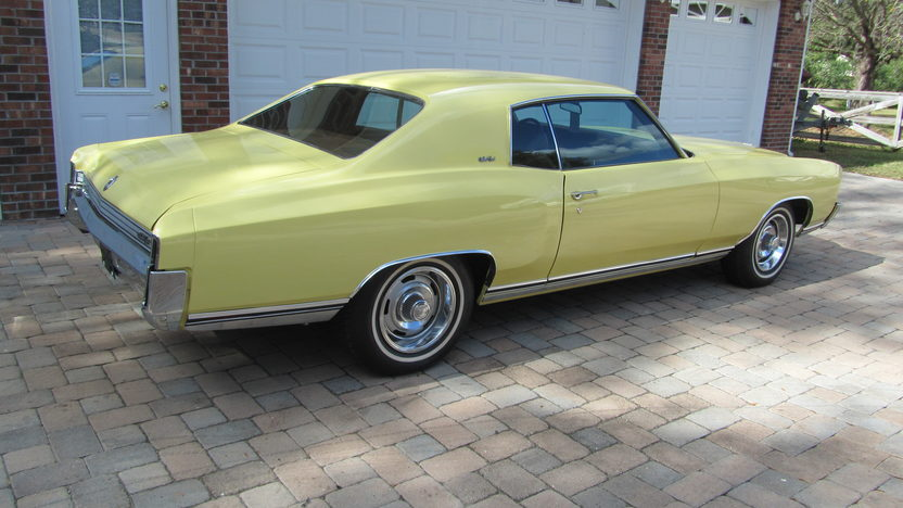 1972 Chevrolet Monte Carlo 402 CI, Automatic presented as lot W211.1 at Kissimmee, FL 2013 - image2