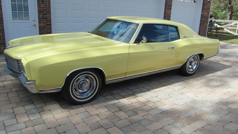 1972 Chevrolet Monte Carlo 402 CI, Automatic presented as lot W211.1 at Kissimmee, FL 2013 - image9