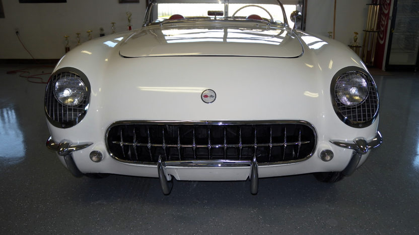 1954 Chevrolet Corvette Convertible 235/150 HP, Automatic presented as lot T136.1 at Kissimmee, FL 2013 - image7
