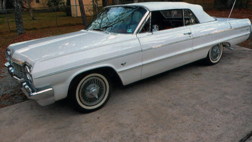1964 Chevrolet Impala Convertible 327/250 HP, Automatic presented as lot W61.1 at Kissimmee, FL 2013 - image5