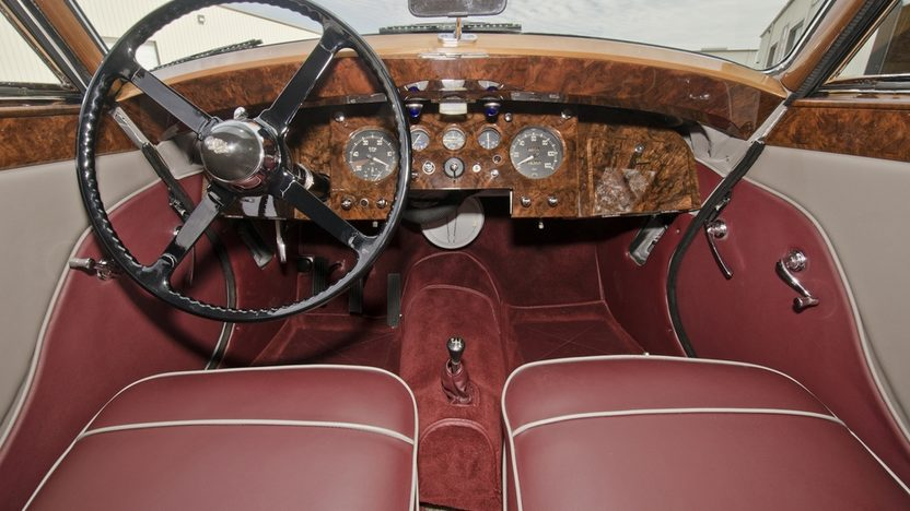 1950 Jaguar 3 Position Drop Head Mark V Cancelled Lot presented as lot S32 at Kissimmee, FL 2013 - image3