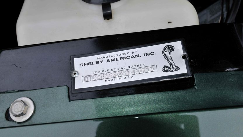 1968 Shelby GT500 Fastback 428 CI, Automatic presented as lot F303 at Kissimmee, FL 2013 - image10