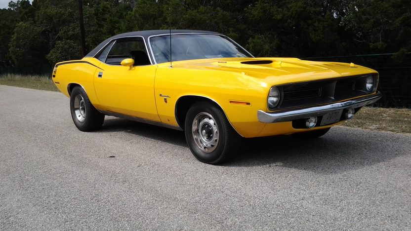 1970 Plymouth Barracuda Coupe 440 CI, Automatic presented as lot L120 at Kissimmee, FL 2013 - image8