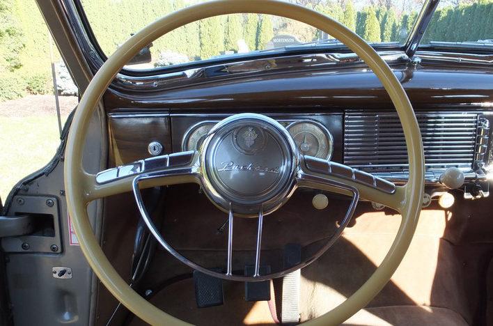 1949 Packard Series 2206 Sedan presented as lot L109.1 at Kissimmee, FL 2013 - image9