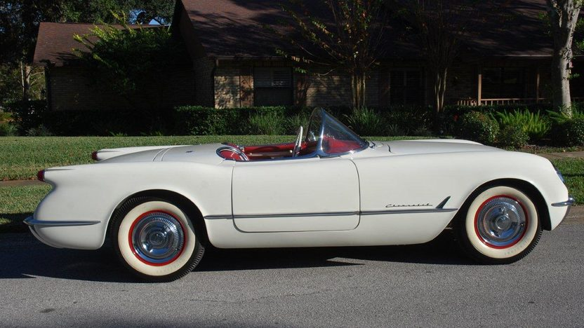1954 Chevrolet Corvette Roadster presented as lot F28 at Kissimmee, FL 2013 - image2