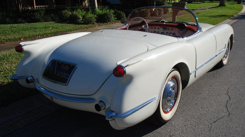 1954 Chevrolet Corvette Roadster presented as lot F28 at Kissimmee, FL 2013 - image3