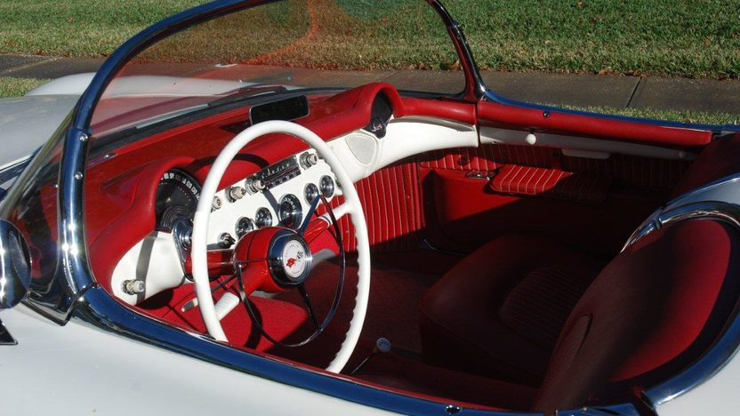 1954 Chevrolet Corvette Roadster presented as lot F28 at Kissimmee, FL 2013 - image4