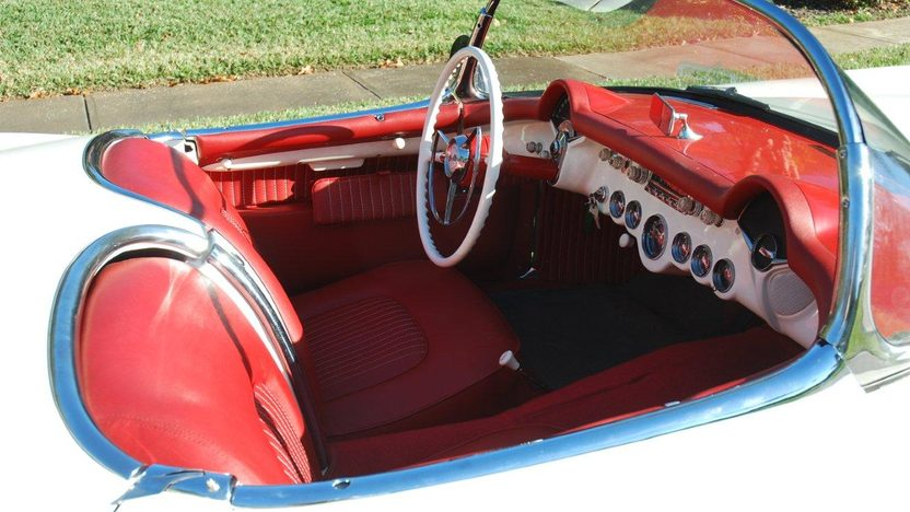 1954 Chevrolet Corvette Roadster presented as lot F28 at Kissimmee, FL 2013 - image5