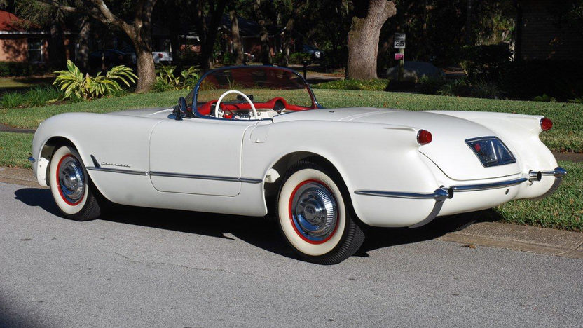 1954 Chevrolet Corvette Roadster presented as lot F28 at Kissimmee, FL 2013 - image8