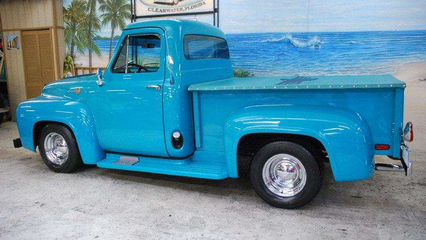 1955 Ford F100 Pickup 350 CI, Automatic presented as lot G31 at Kissimmee, FL 2013 - image2