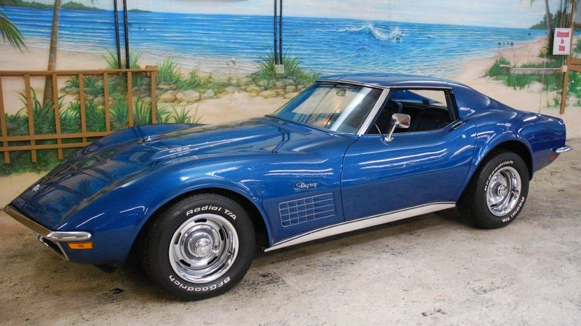 1971 Chevrolet Corvette Coupe 454 CI, Automatic presented as lot G161 at Kissimmee, FL 2013 - image10