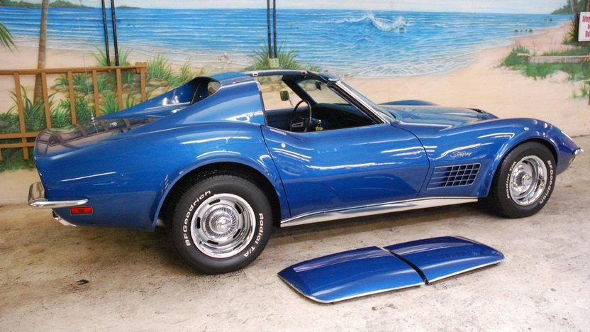 1971 Chevrolet Corvette Coupe 454 CI, Automatic presented as lot G161 at Kissimmee, FL 2013 - image2