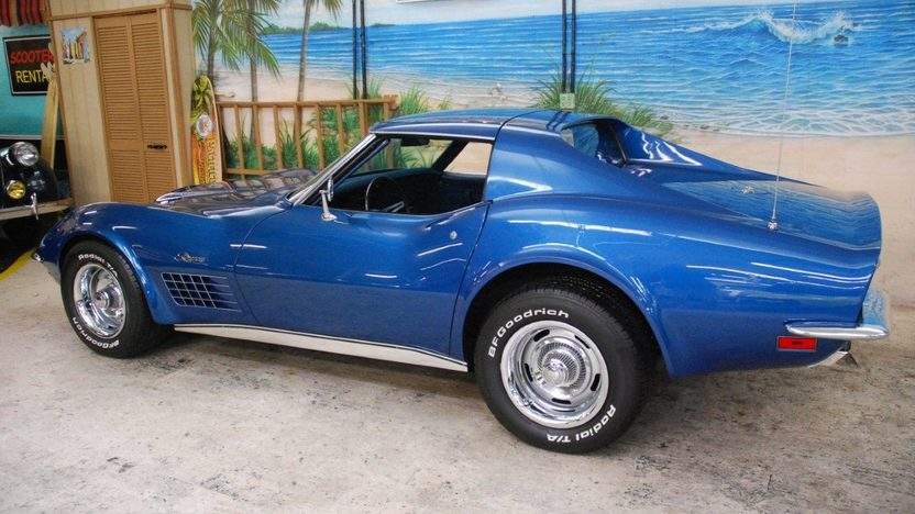 1971 Chevrolet Corvette Coupe 454 CI, Automatic presented as lot G161 at Kissimmee, FL 2013 - image9