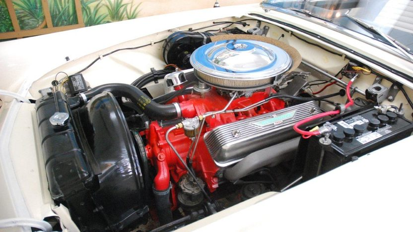 1957 Ford Thunderbird Convertible 312 CI, Automatic presented as lot W219 at Kissimmee, FL 2013 - image6