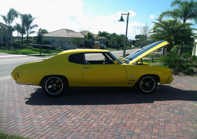 1971 Chevrolet Chevelle SS 502 CI, 5-Speed presented as lot K145.1 at Kissimmee, FL 2013 - image2