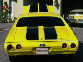 1971 Chevrolet Chevelle SS 502 CI, 5-Speed presented as lot K145.1 at Kissimmee, FL 2013 - image3