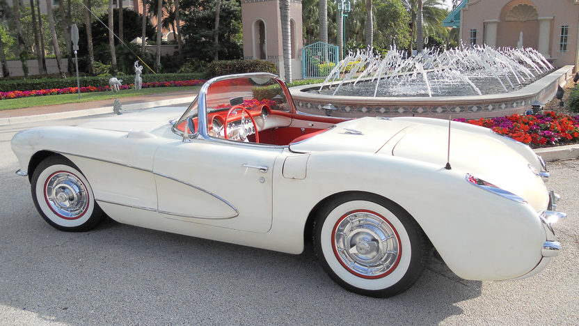 1956 Chevrolet Corvette Convertible Bloomington Gold Survivor, 34,500 Miles presented as lot S256.1 at Kissimmee, FL 2013 - image3