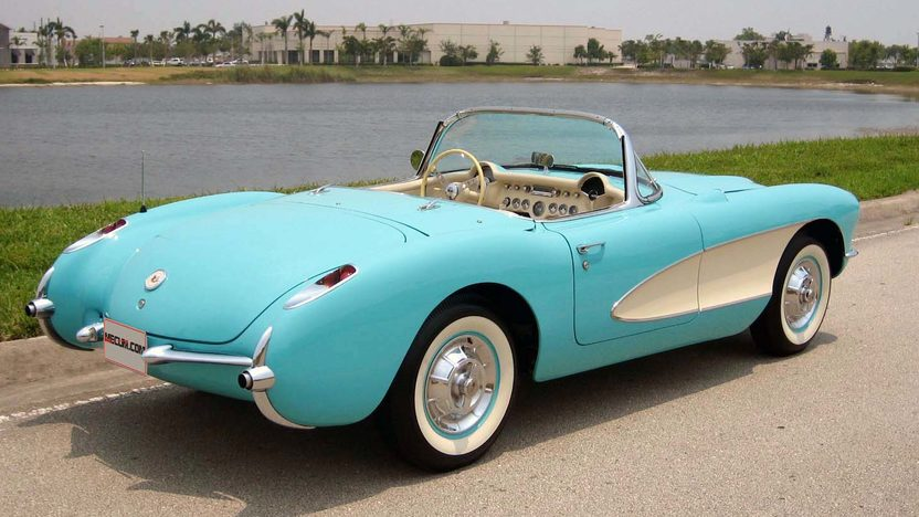 1957 Chevrolet Corvette Convertible 283/270 HP, 3-Speed presented as lot F127 at Kissimmee, FL 2013 - image2