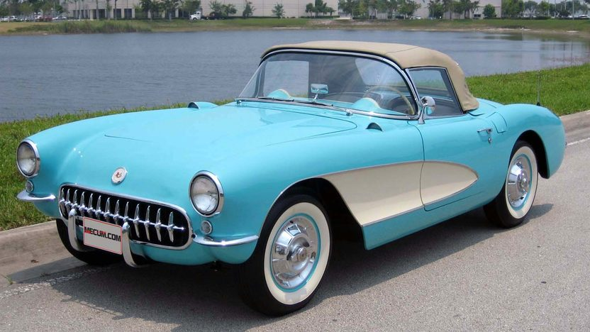 1957 Chevrolet Corvette Convertible 283/270 HP, 3-Speed presented as lot F127 at Kissimmee, FL 2013 - image6