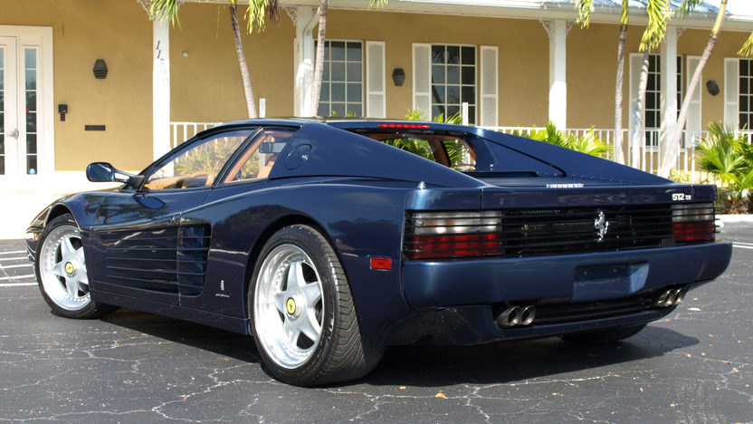 1994 Ferrari 512TR Coupe presented as lot S50 at Kissimmee, FL 2013 - image3