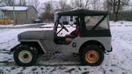 1952 Willys Jeep presented as lot J108 at Kissimmee, FL 2014 - thumbail image7
