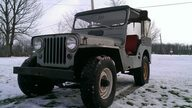 1952 Willys Jeep presented as lot J108 at Kissimmee, FL 2014 - thumbail image8